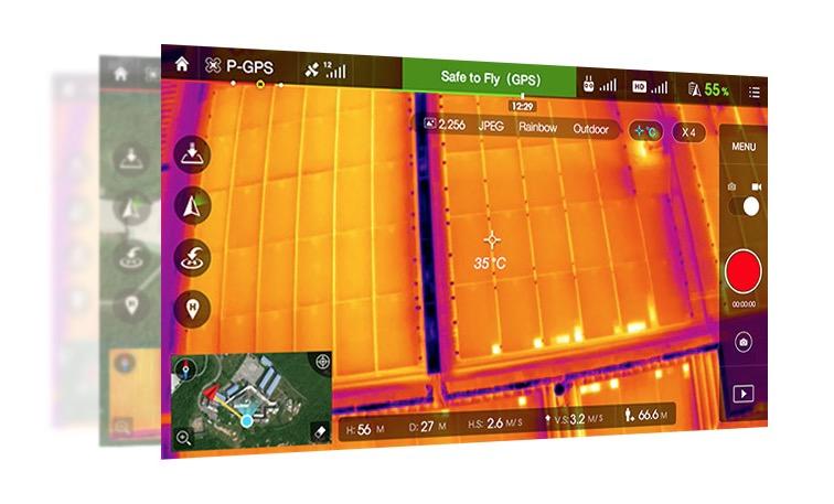 Drohne DJI Zenmuse XT BOS Schulung