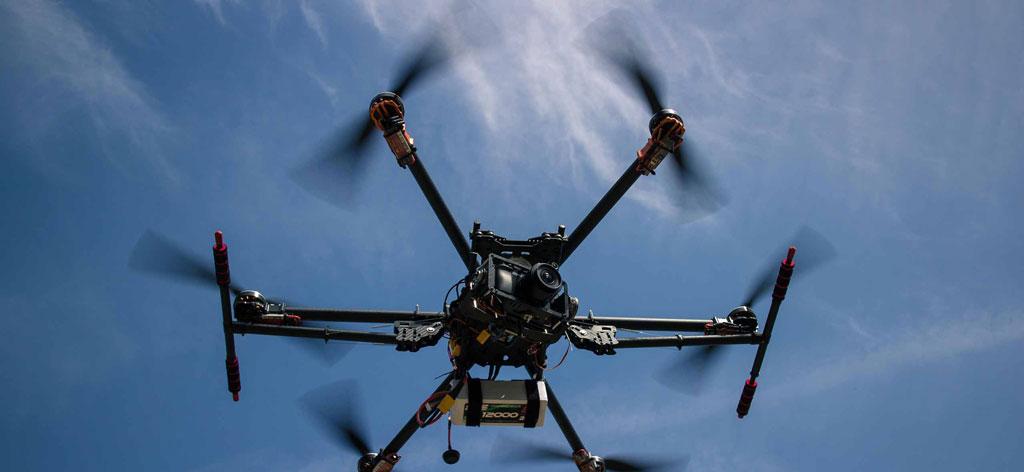 Hessendrohne Schulung mit Drohnen von DJI Bos Schulung
