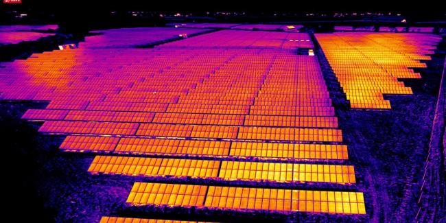 PV-Anlagen Inspektion mit Drohne